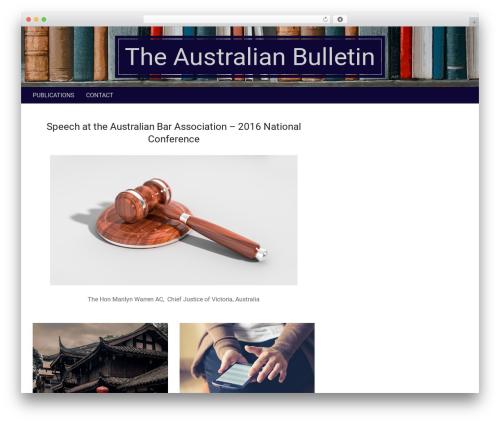 Nevark theme WordPress - theaustralianbulletin.com