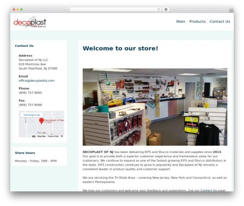 purelyShopping WordPress shop theme - decoplastnj.com