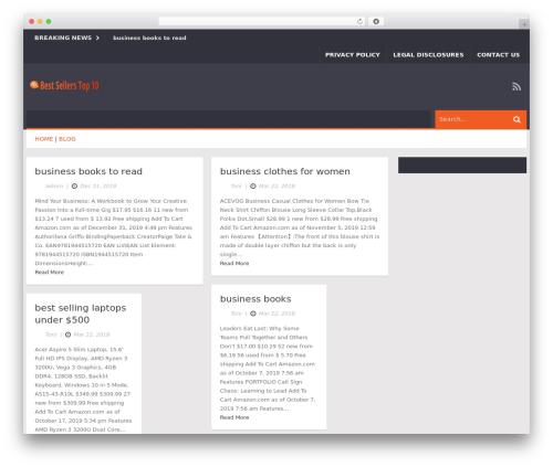Ad Mag-Lite theme WordPress - bestsellerstop10.com