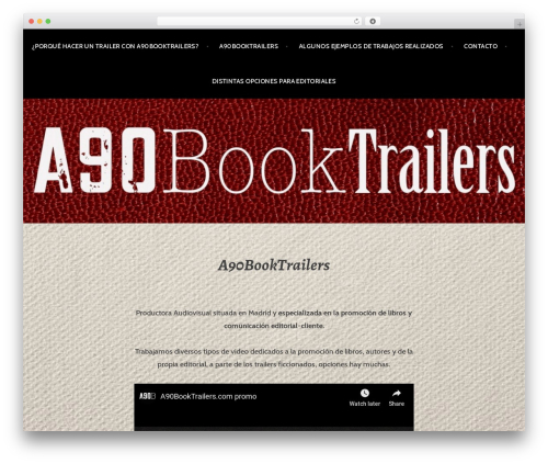 Argent WP template - a90booktrailers.com