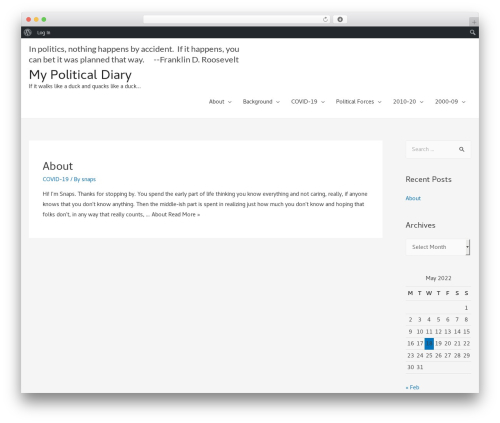 Free WordPress SEO by 10Web plugin - mypoliticaldiary.com