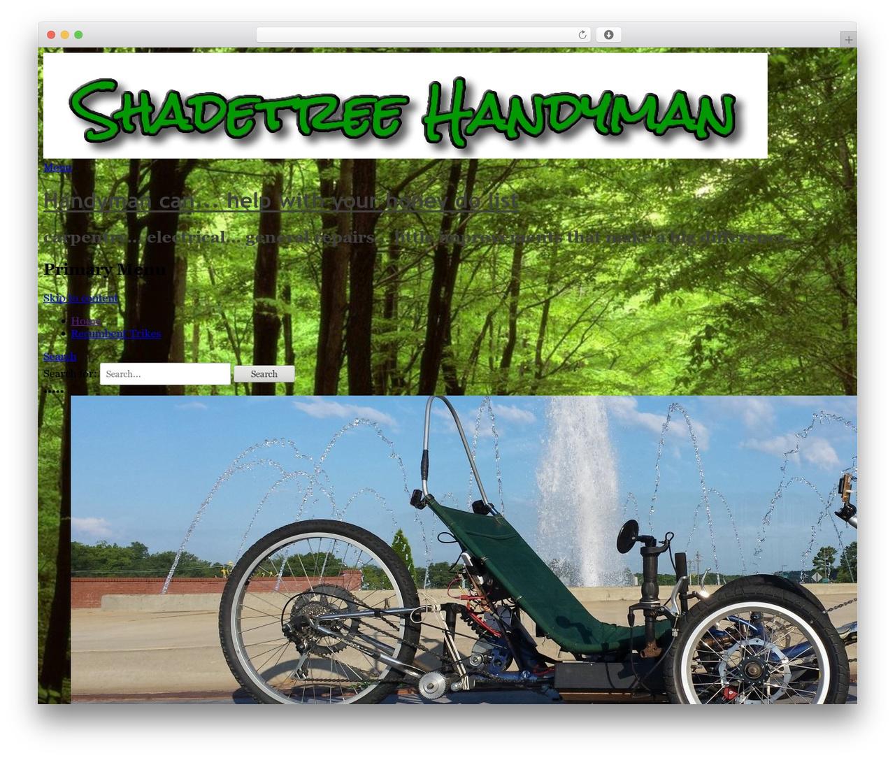 Catch Base Pro WP template - shadetreehandyman.com