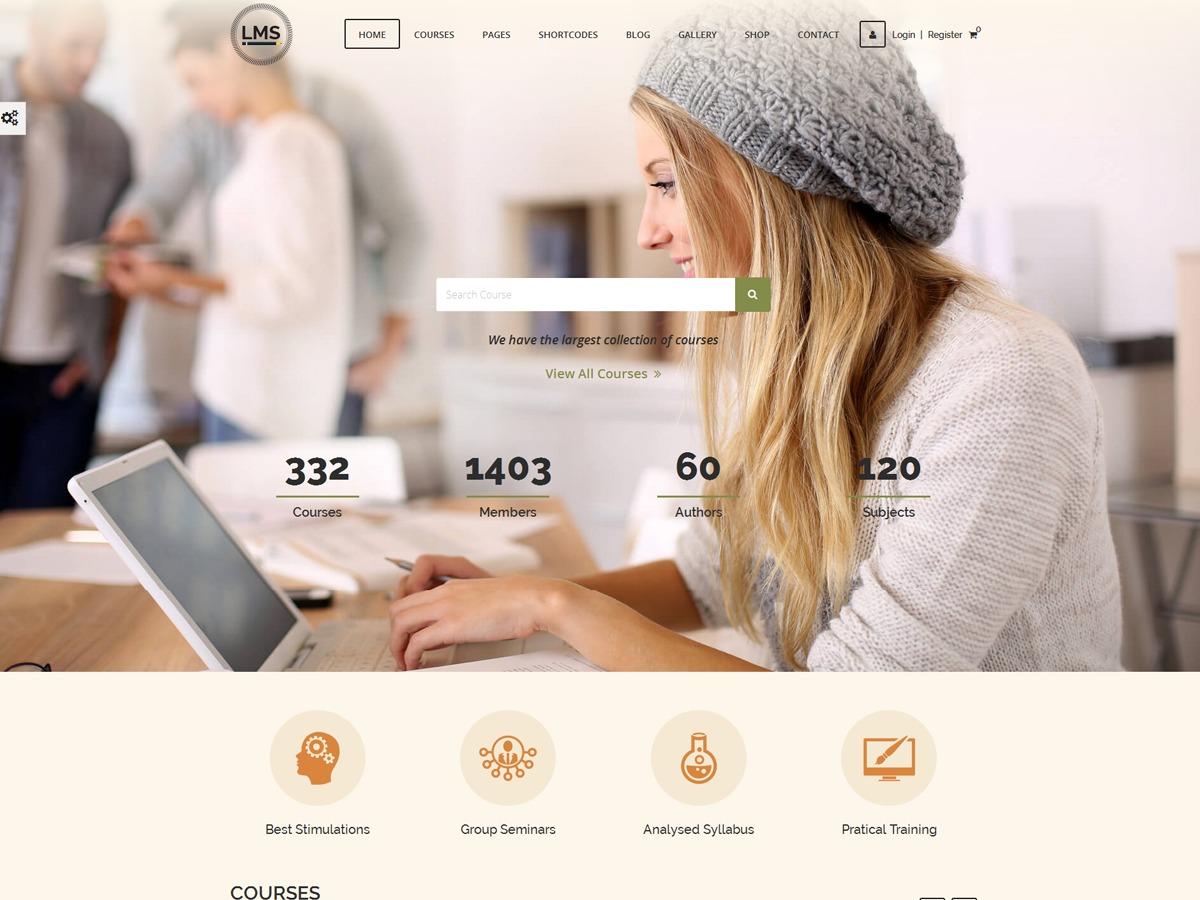 LMS   Shared By VestaThemes.com wallpapers WordPress theme