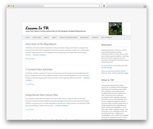 Theme WordPress Fresh & Clean - lessonsintr.com