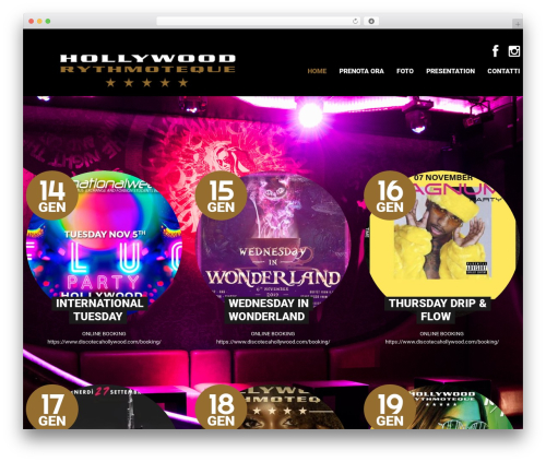 WordPress template theme53257 - discotecahollywood.com
