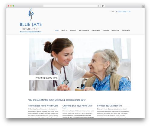 WordPress theme Responsive - bluejayshomecare.com