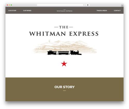 Andy theme WordPress - whitmanexpress.com