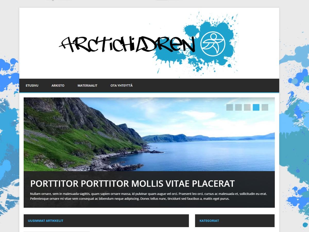 Arctic Child WP theme