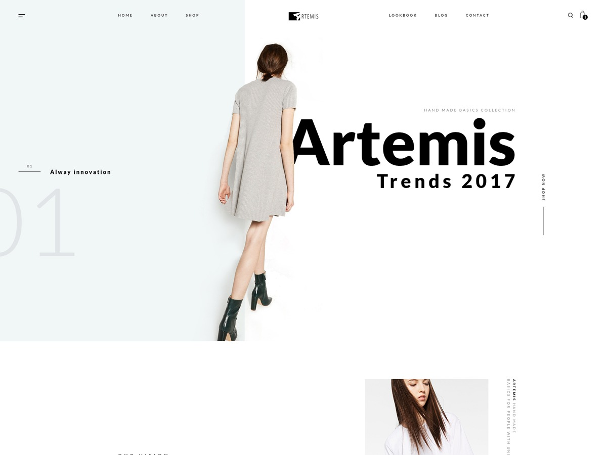 Artemis-SWP WordPress ecommerce template