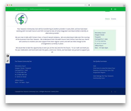 Free WordPress WP Private Content Plus plugin - fourseasoncare.co.uk