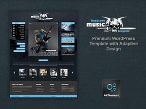 Bandzone best WordPress theme