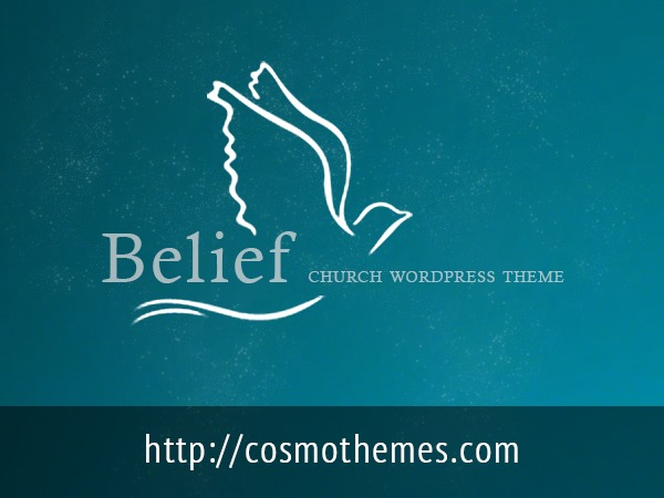 Belief WordPress website template