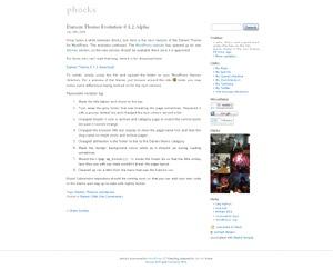 Best WordPress theme Darwin