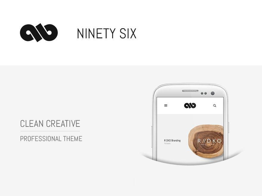 Best WordPress theme Ninetysix