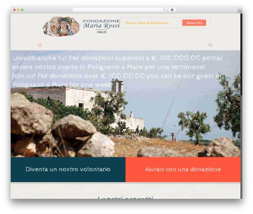 Betheme WordPress template - fondazionemariarossi.org