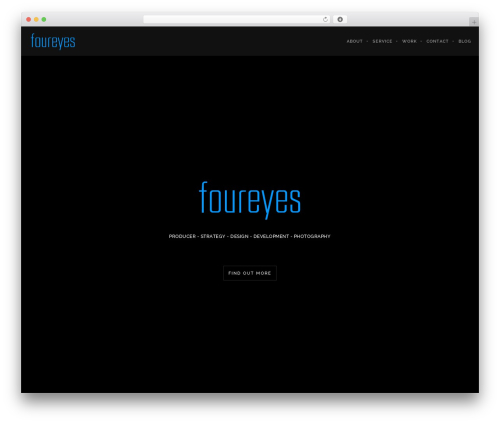 WordPress ut-twitter plugin - foureyes.com.au