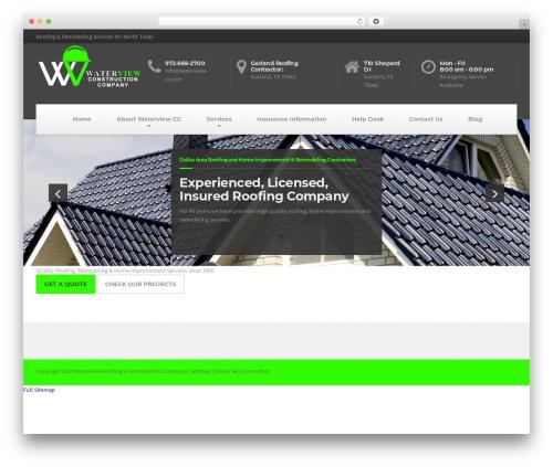 BuildPress WP Theme business WordPress theme - waterview-cc.com