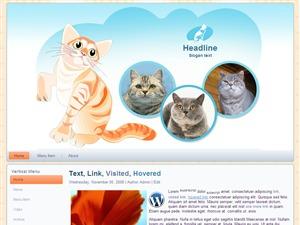 Cat Breeder WordPress blog theme