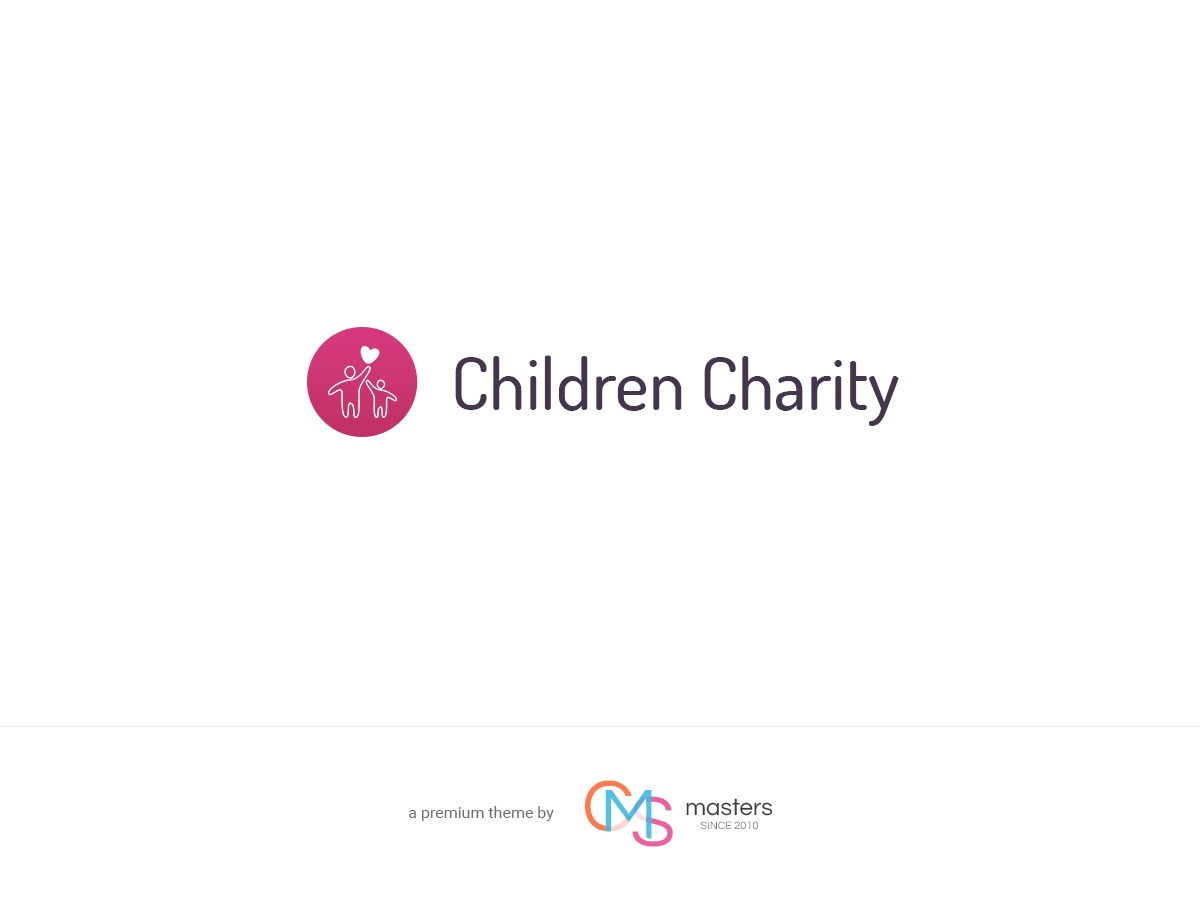 Children Charity WordPress blog template