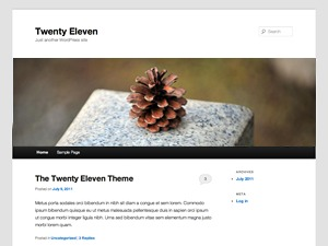 Christmas WordPress template free