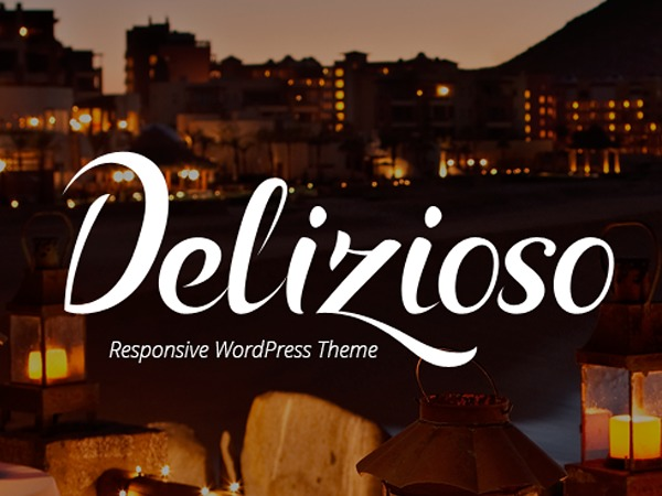 Delizioso Responsive Theme WordPress page template