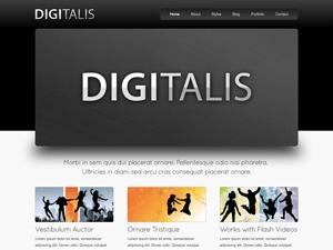 Digitalis WordPress video theme
