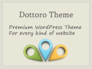 Dottoro company WordPress theme