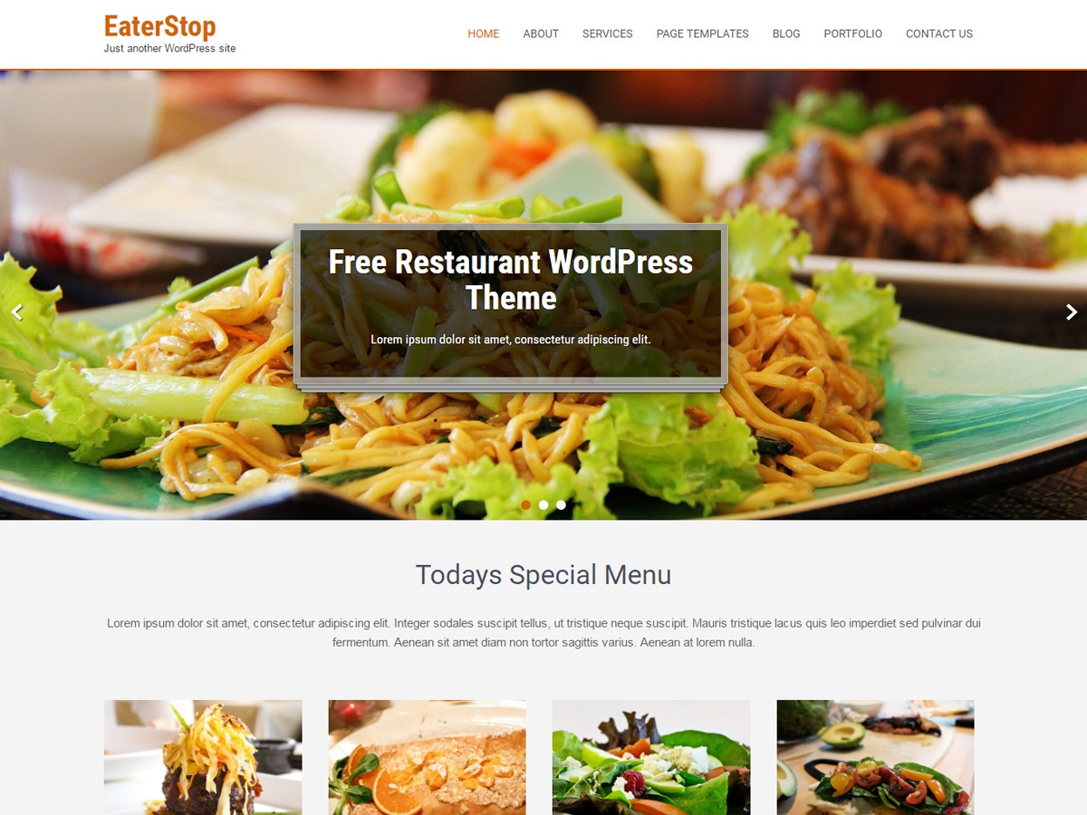 Eaterstop Lite WordPress theme download