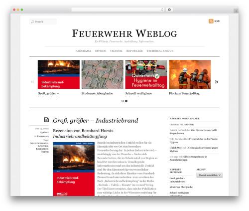 Elemin template WordPress - feuerwehr-weblog.org