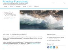 Farraige WordPress theme