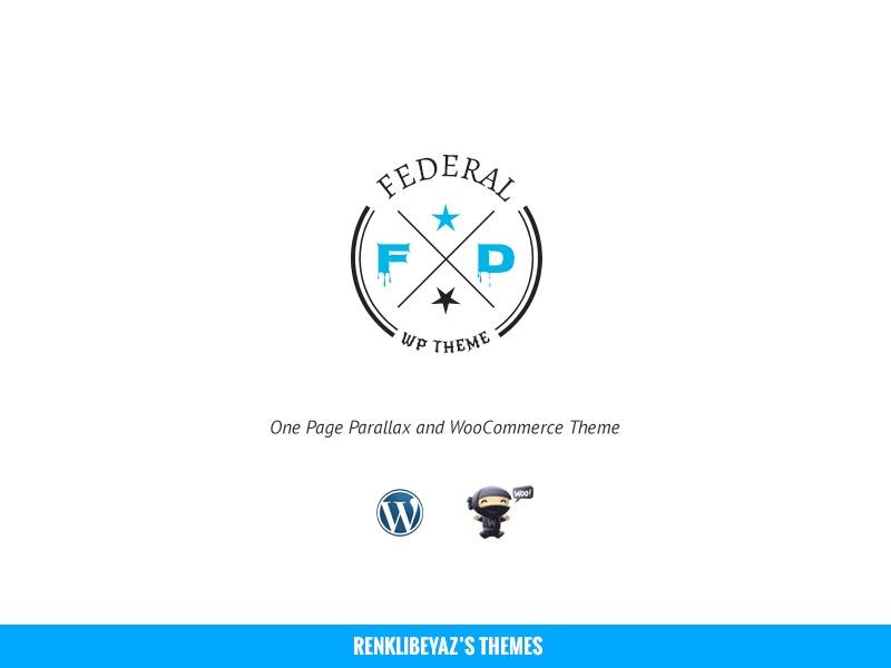 Federal best WordPress template