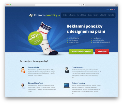WordPress proplayer plugin - firemni-ponozky.cz