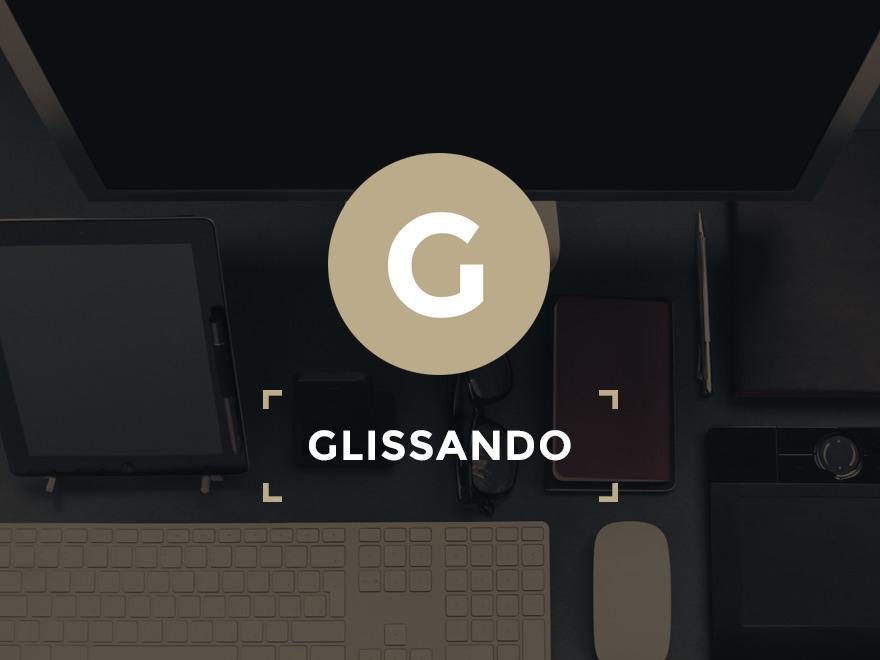 Glissando WordPress theme