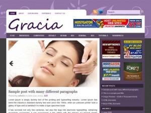 Gracia template WordPress