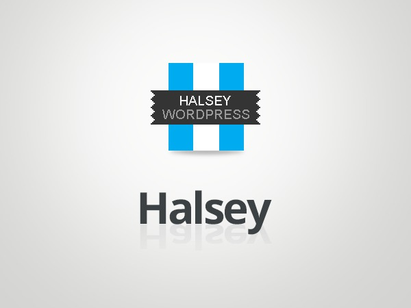 Halsey (Shared on www.MafiaShare.net) WordPress theme