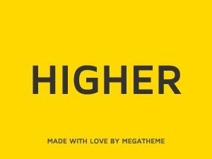 Higher business WordPress theme