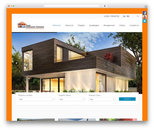 Free WordPress Polylang plugin - fourseasonshomes.com.mx/en/home