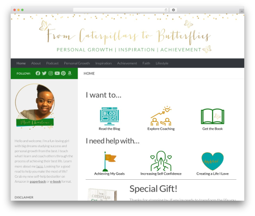 Free WordPress Custom Banners plugin - fromcaterpillarstobutterflies.com