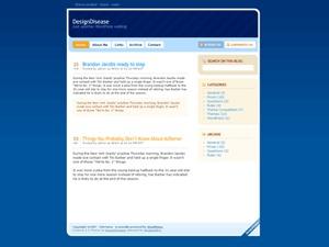 InSense WordPress blog theme