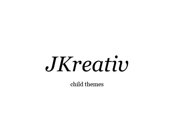 Jkreativ Child Theme best WordPress theme