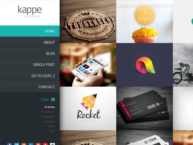 Kappe template WordPress