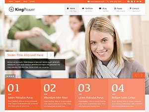 King Power top WordPress theme
