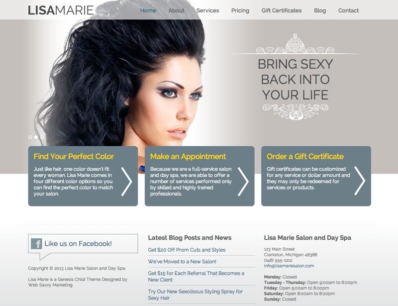 Lisa Marie WordPress theme image
