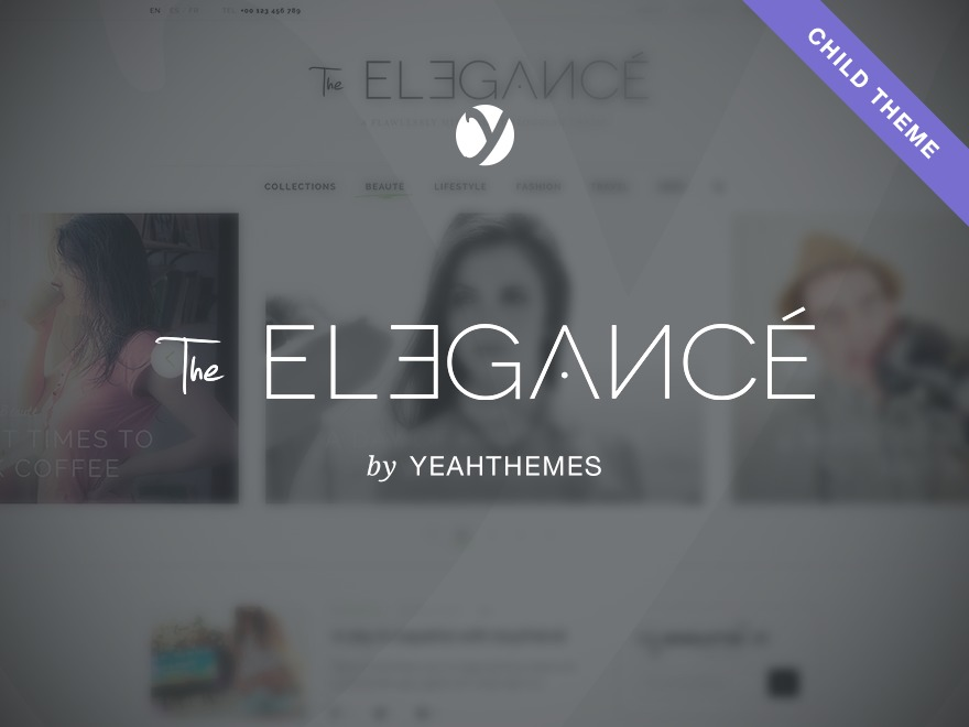 Little Elegancé WordPress template