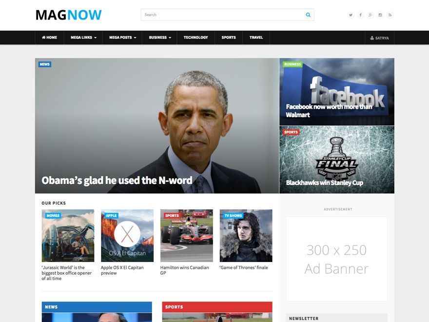 MagNow best WordPress magazine theme