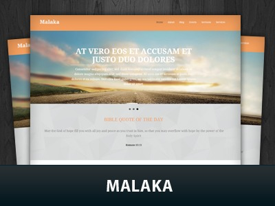 Malaka WordPress theme