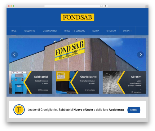 Mechanic WordPress template - fondsab.com