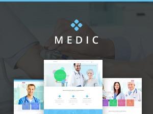 Medic - Retina Medical and Health Template for all Clinics WordPress Theme medical WordPress theme