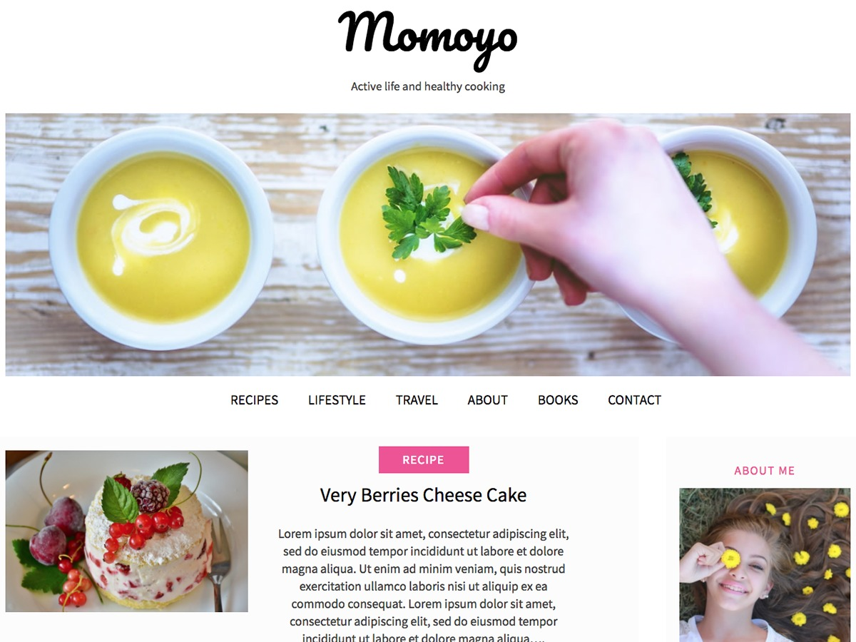 momoyo WordPress template free