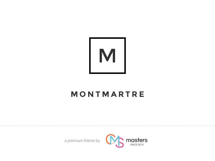 Montmartre WordPress blog theme